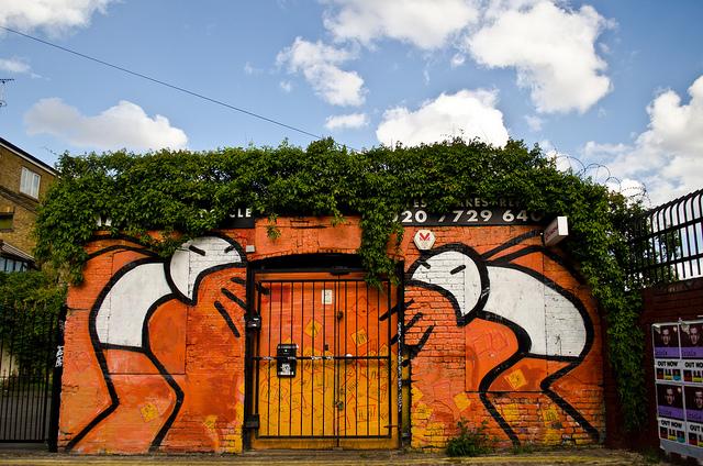 STIK Street Art Shout